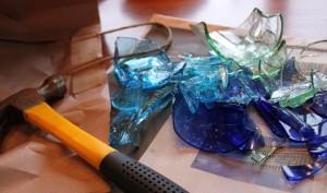 Blog broken glass and hammer